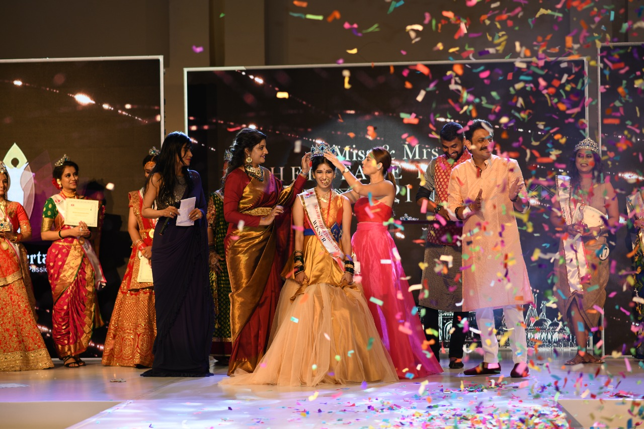 Miss and Mrs Heritage India Completed by Mrunal Entertainment